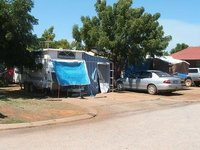 Our Van at Broome