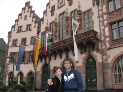 Chad and Jen in Germany