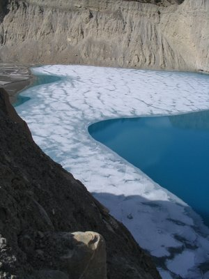 Ice Lake Manang