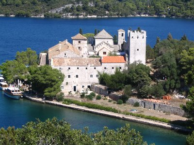 Monastery on Mljet