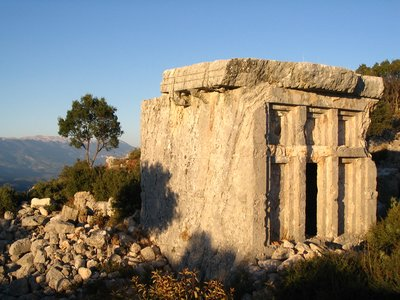 Lycian Tomb at Phellos