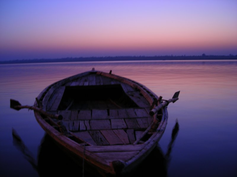Sunrise on the Ganges