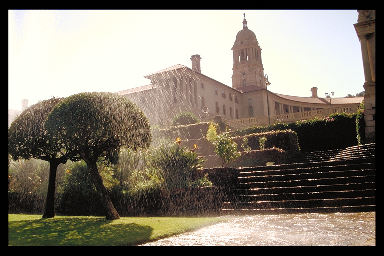 Parliament Building in Pretoria