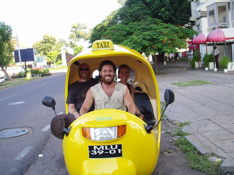 Manic Taxi Driver