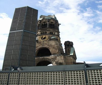 - Berlin   non rebuilt church