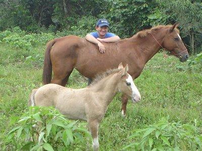 Colorada (mother) Potro (son)