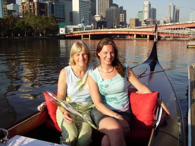Melboure, Yarra River Gondola ride