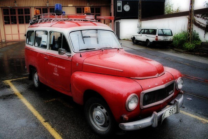 Red Volvo PV
