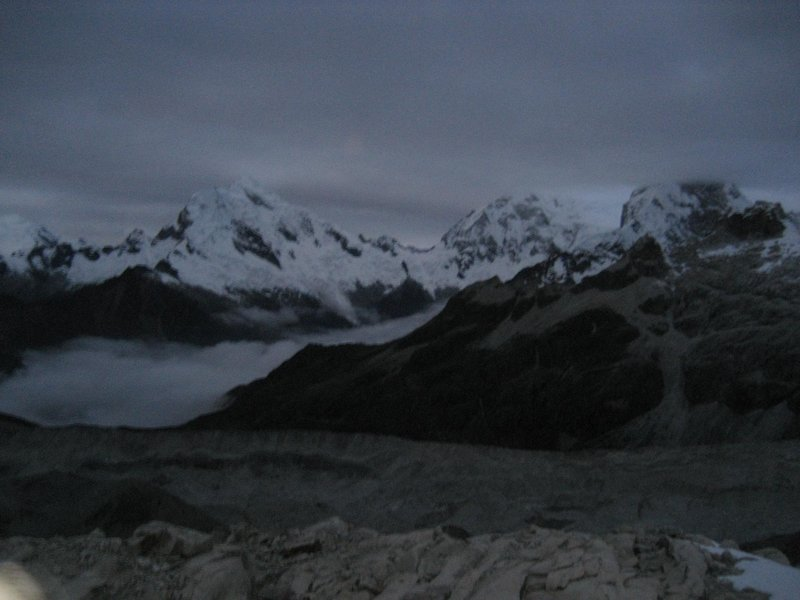 Huaraz - Viwe before sunrise