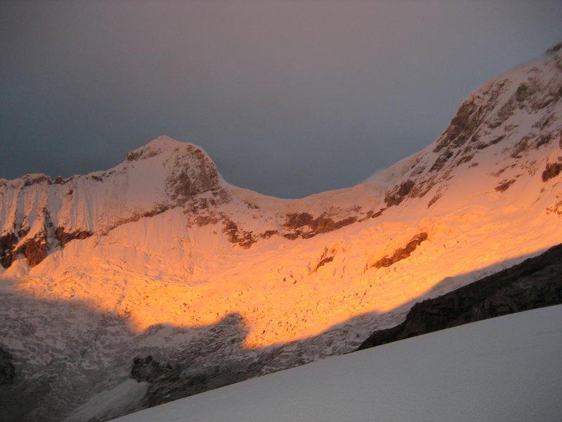 Huaraz - View at sunrise