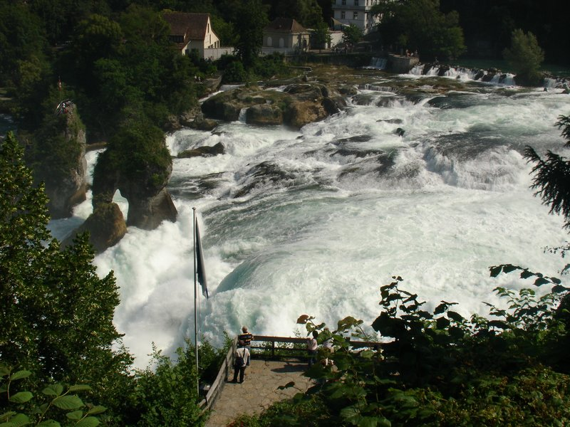 Europe's biggest waterfall: Reinfalls