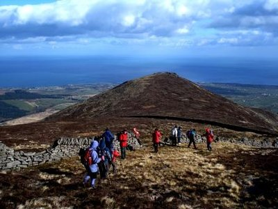 Mournes climbers