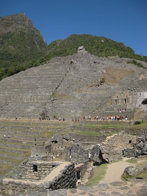 Machu Picchu Terracing