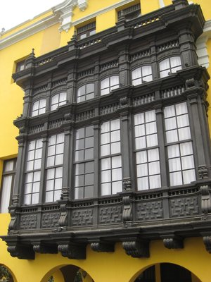 Colonial Lima Detail