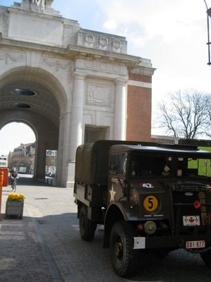 Canadian Jeep at Menin Gate