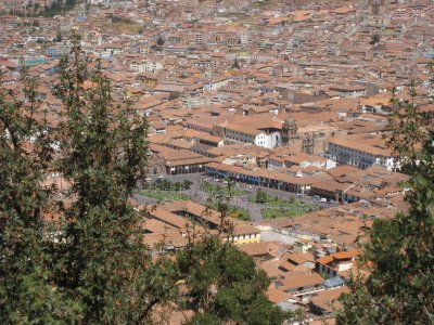 Hill View of Cusco