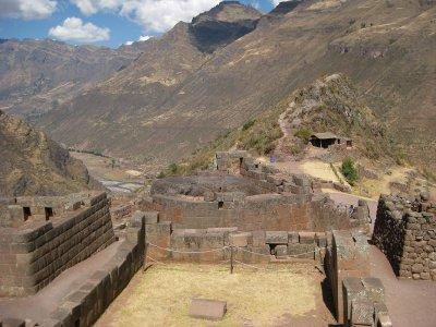 Pisac Inca Temple Ruins