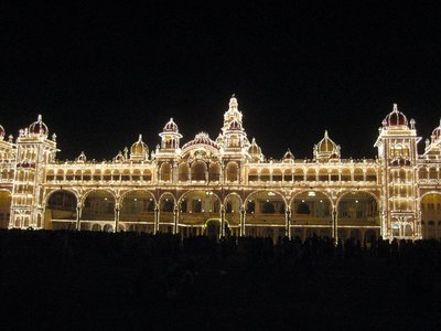 Mysore Palace Lights