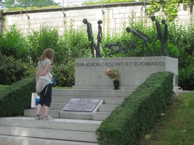 Auschwitz Memorial in Paris