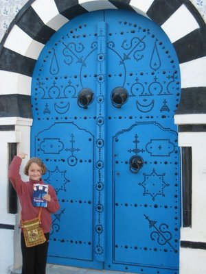 Doorway  in Sidi Bou Said