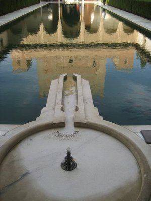 Nasrid Palace Reflection