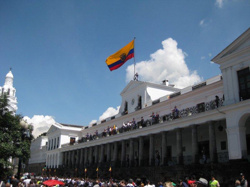 Ecuadorian Flagraising