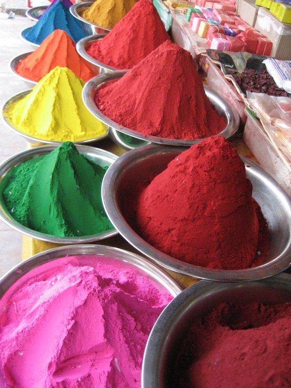 Mysore market dyes