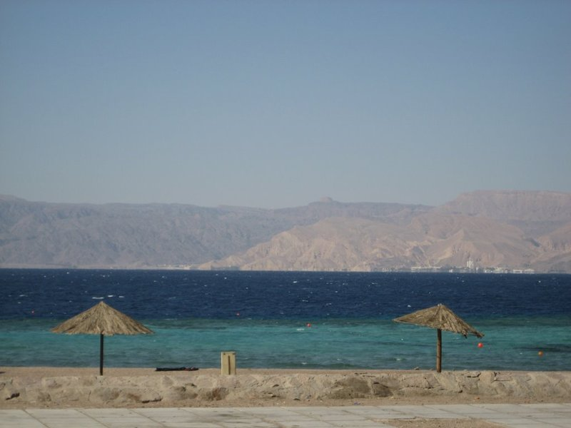 Aqaba Empty Beach