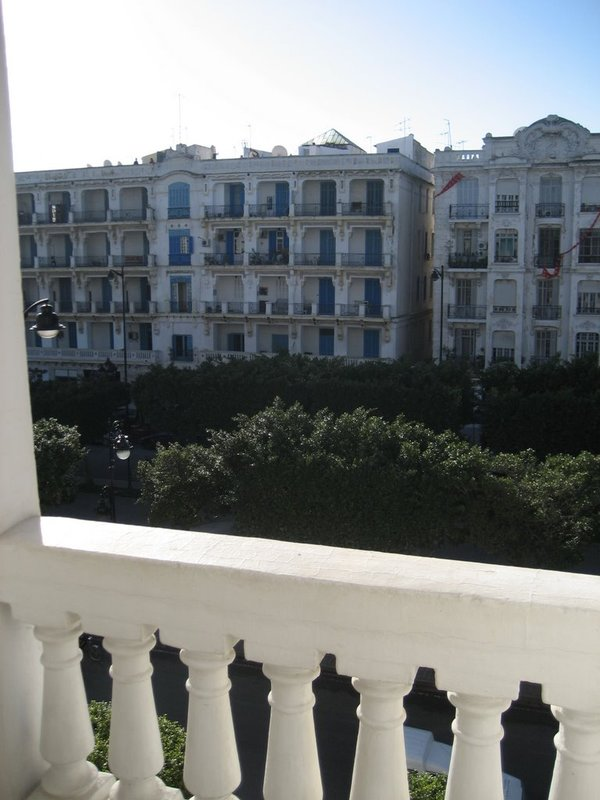 Tunis Hotel Room View