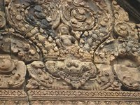 Banteay Srei Carving Detail