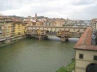 Above Ponte Vecchia