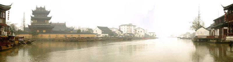 Waterways at Zhu Jia Jiao