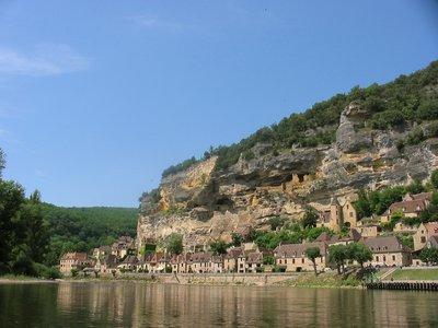 La Dordogne, Roche Gageac, Périgord