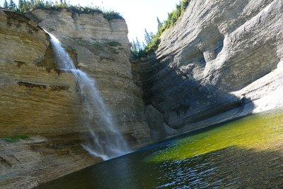 Vaureal Falls, Anticosti Island, Quebec