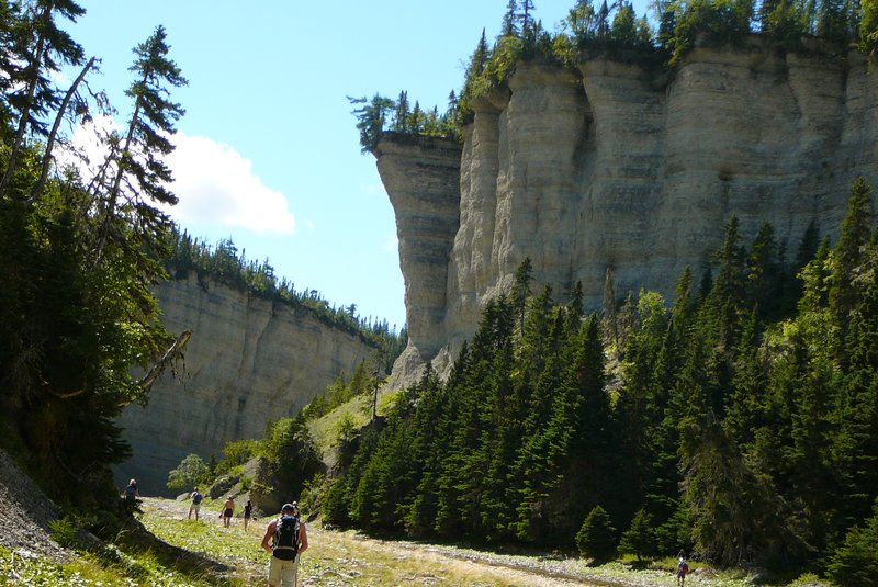 Vaureal Canyon, Anticosti Island, Quebec