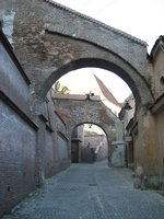 Entrance to Sibiu old town