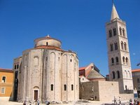 Zadar, Forum and Church