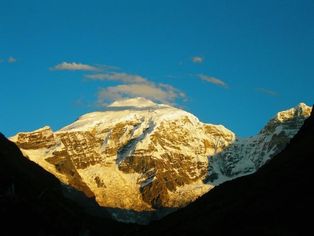 Jhomolhari Mountain