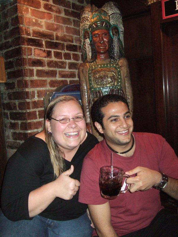 Fun at Cheers!