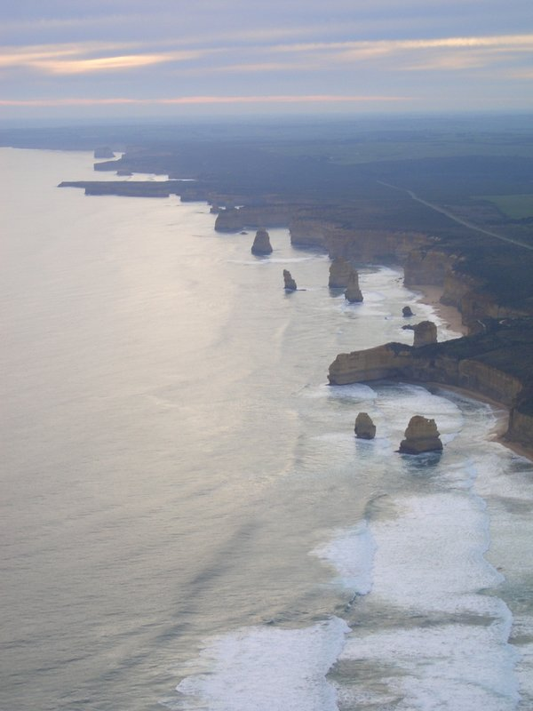 12 apostles from the chopper