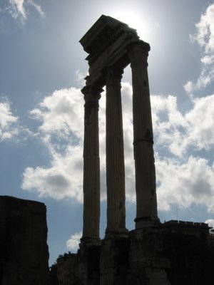 Temple of Castor and Pollux at the Forum