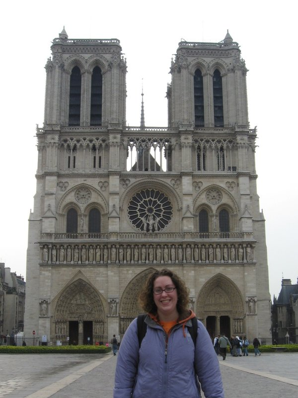 Me at Notre Dame