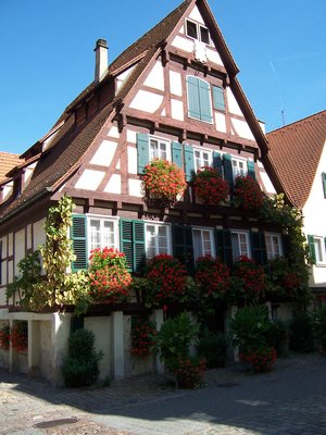 Typical Tuebingen House