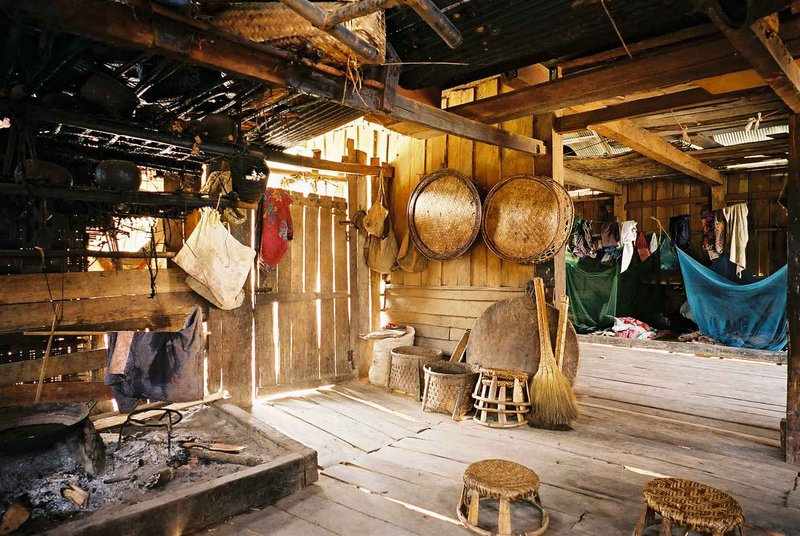 Kitchen, Akha house
