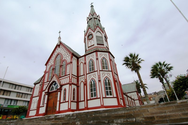 Eiffel's Church - Arica, Chile