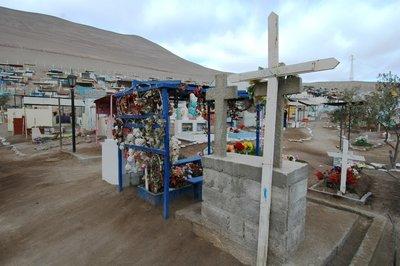 Atacama Cemetery - near Arica, Chile