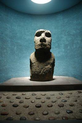 Moai in La Serena