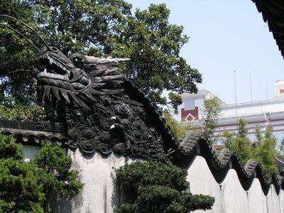 Dragon Wall, Yu Yuan Garden, Shanghai