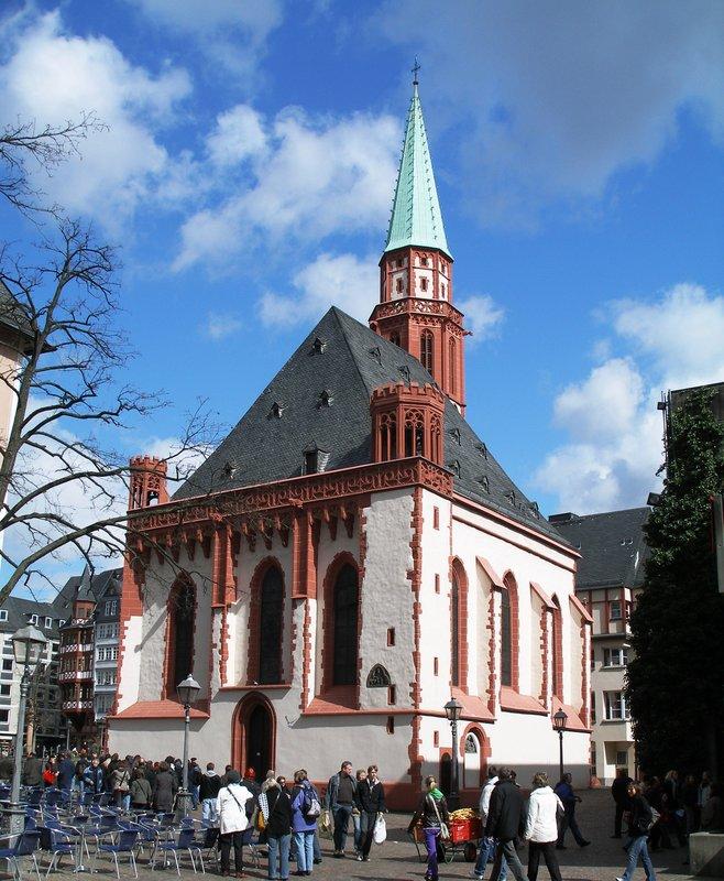 Alte Nikolaikirche, Romerberg