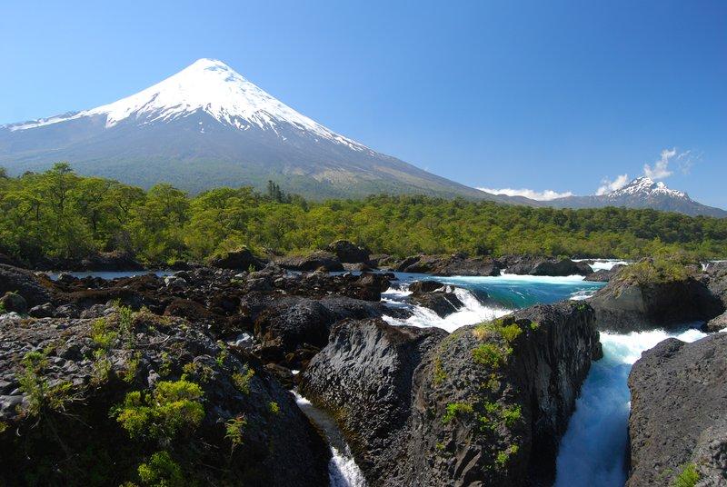 Volcan Osorno and Saltos del Petrohue